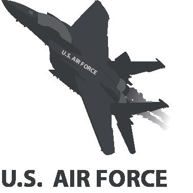 Us Air Force Logo Vector Us air force logo + vector